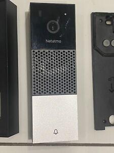 Netatmo Smart Video Doorbell, HomeKit, Person Detection No Subscription Fees