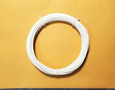 20 Awg Mil Spec Wire Teflon Ptfe Stranded Silver Plated Copper White 25 Ft