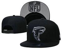 NEW ERA 9FIFTY SNAPBACK NFL ATL Atlanta Falcons FLAT BILL HAT/CAP BLACK
