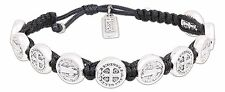 Handwoven BENEDICTINE BLESSING BRACELET with Medal Charms, by My Saint My Hero