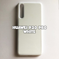 2D Rubber Sublimation Blank Case for Huawei P20 Pro White