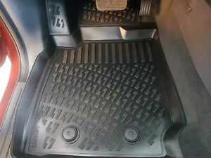 TO FIT FORD RANGER Rubber Floor Mats 3D Deep Tray Tailored Mud Mat RHD T6 T7 T8