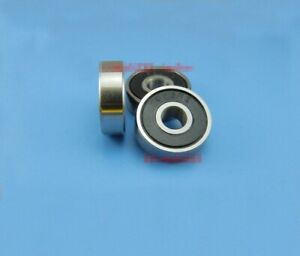 10pcs Stainless steel Sealed Ball Bearing S623-2RS S623ZZ 3 x 10 x 4mm[DORL_A]
