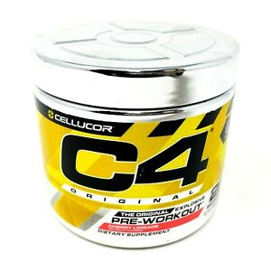 CELLUCOR C4 ORIGINAL iD Series Explosive Pre-Workout Powder 25SRV Cherry Limeade