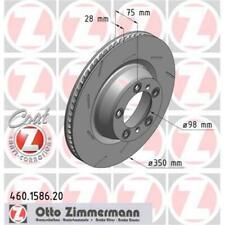 ZIMMERMANN 460.1586.20 Brake Discs 2 Piece for Porsche