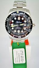 Orologio Perseo Submariner 500mt Uomo automatico Svizzero Nero Auto Swiss Watch