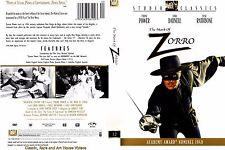 The Mark of Zorro ~ New DVD ~ Tyrone Power, Linda Darnell (1940)