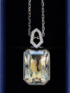 NEW* Swarovski Evanescent Silver Crystal Pave Pendant - Great Gift!