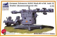 Bronco 1:35 WWII German Telemeter KDO Kommando-Gerat Mod 40 & Sd.Anh 52#CB35103