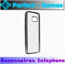 coque housse protection cover case estuche KHORA Samsung galaxy S7 chrome argent