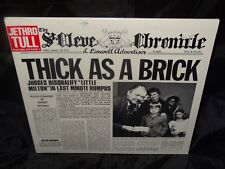 Jethro Tull Thick As A Brick Sealed Vinyl Record Lp USA 1983 Reprise MS 2072