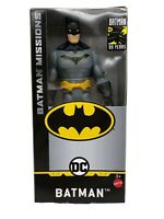 "BATMAN action figure 6"" Inch Scale Missions Mattel GCK97 Super Hero NIB New"