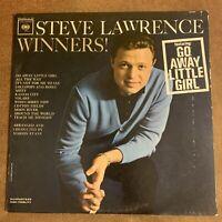 STEVE LAWRENCE WINNERS! VINYL LP ORIGINAL 1963 COLUMBIA RECORDS CL 1953, MONO EX