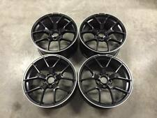 "19"" C63 AMG 507 Style Wheels Satin Black Machined Lip Mercedes C Class W205 W204"
