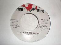 Barry Mann 45 Talk To Me Baby RED BIRD PROMO