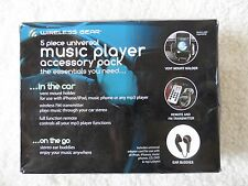New Wireless Gear Universal Music Player Accessory Pack Earbuds Mount And Remote