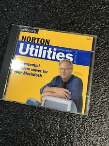 Norton Utilities Version 5.0 For Mac OS ~ Completed