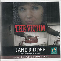 Jane Bidder The Victim 8CD Audio Book Unabridged Crime Thriller FASTPOST