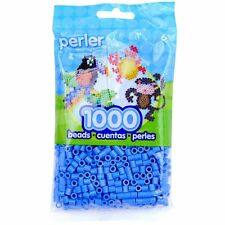 1000 Perler Light Blue Color Iron On Fuse Beads