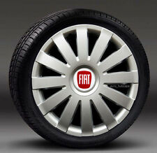"""Set of 4 ( 14"""" ) wheel trims, Hub Caps, Covers to fit Fiat PUNTO"""