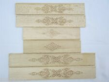 Violin part:6pcs One set of unfinished carving violin ribs