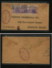 Honduras  train  stamps on  cover  to   US  1900    MS0531