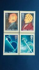 1991 SCIENTIFIC ACHIEVEMENTS STAMPS PHQ CARDS WITH A SOUTH KENSINGTON F.D.I.
