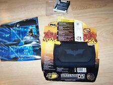 Batman Mad Catz Nintendo DS Console Neoprene Case Screen Protector Skin New