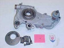Maserati Biturbo Engine Oil Pump Assembly oil Pressure Regulator_Gears OEM