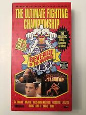 UFC 4 VHS Rare MMA Video UFC IV Revenge of the Warriors Royce Gracie, Dan Severn