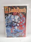 Lady Death 1/2 WIZARD Edition Chaos Comic Book w/COA Brian Pulido Adam Hughes