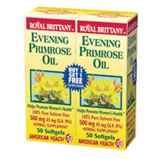 Evening Primrose Oil 50 + 50 Sftgls 500 mg