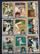 1983 Topps BOSTON RED SOX Complete Team Set 30 WADE BOGGS ROOKIE Sharp LOOK !