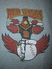 ROCHESTER RED WINGS T SHIRT Minor League Baseball 11 Miracle League Youth Medium