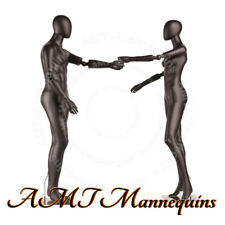 Female+ Male Full Body, High End Mannequins,Flexible Arms+Stands, Dancing Couple