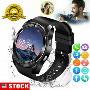 Smart Watch Bluetooth Wristwatch for Samsung Galaxy Note 20 S20 S10 S9 A11 A10e