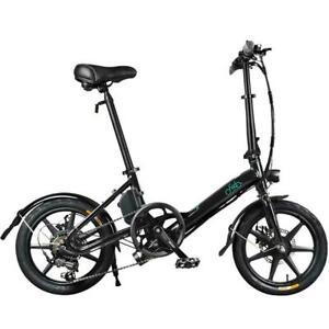 E-Bike Lightweight Aluminum Alloy Folding Bicycle With Tire 250W Hub Motor