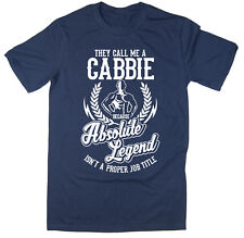 Cabbie T-Shirt - Absolute Legend! Funny T-Shirt available in 6 colours.