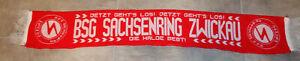 Schal BSG SACHSENRING ZWICKAU   DFV DFB DDR Oberliga Sport Fußball