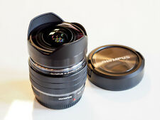 Olympus M.Zuiko Digital 8mm F 1.8 Fisheye PRO Objektiv schwarz 1:1.8 Fish-eye