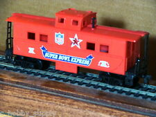 CABOOSE 30TH ANNIVERSARY MANTUA SUPER BOWL EXPRESS 1996