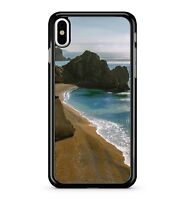 Beach Resort Seaside Sand Ocean Waves Landscape Canvas 2D Phone Case Cover