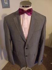"""M&S Men's Grey 'Superlite' Suit Jacket C40"""" Reg Drop & Fit W/Blend £49.99 BNWT"""