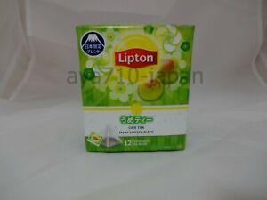 Lipton Ume Tea 12 tea bags in 1 bag Japan limited blend F/S