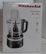 NEW KitchenAid KFP0718BM 7-Cup Food Processor, Matte Black $169.99