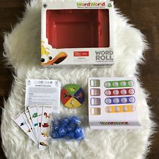 Pbs Kids Word World Word Roll Game Ages 3+ Worldbuilding 95% Complete