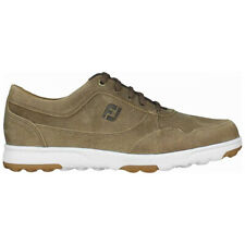 Footjoy Spikeless Golf Casual Shoes Tan - Choose Size & Width