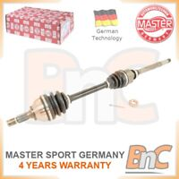OEM MASTER-SPORT HEAVY DUTY FRONT RIGHT DRIVE SHAFT FOR CITROEN PEUGEOT