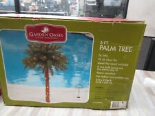Lighted Palm Tree 5 Ft Fake Artificial 76 Lights Home Pool Garden Decoration