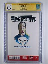 The Punisher #1 CGC 9.8 Mark Texeira Sketch Original Art